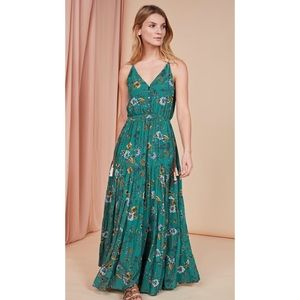 Anthropologie Dolan Reba tiered maxi dress 471